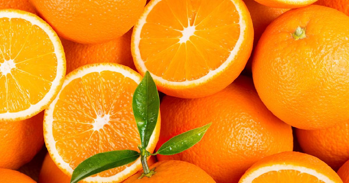 Frutas naranjas